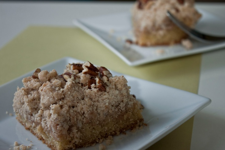 Big Crumb Coffee Cake. Double the cake portion of recipe
