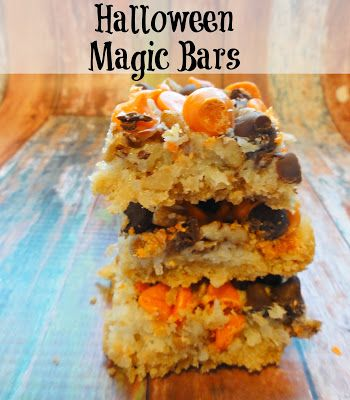 The Cookie Puzzle: Halloween Magic Bars