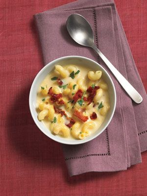 Recipes from The Nest - Mac and Cheese Soup