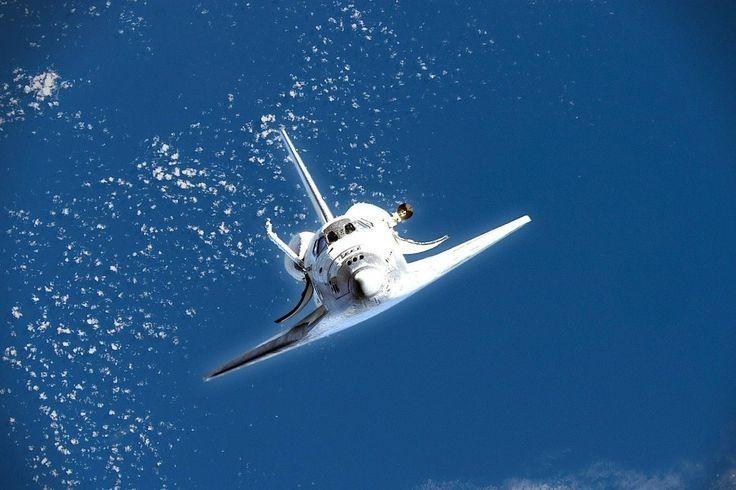 future space shuttle in orbit - photo #19