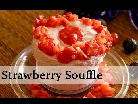How To Make This Luscious Strawberry Souffle