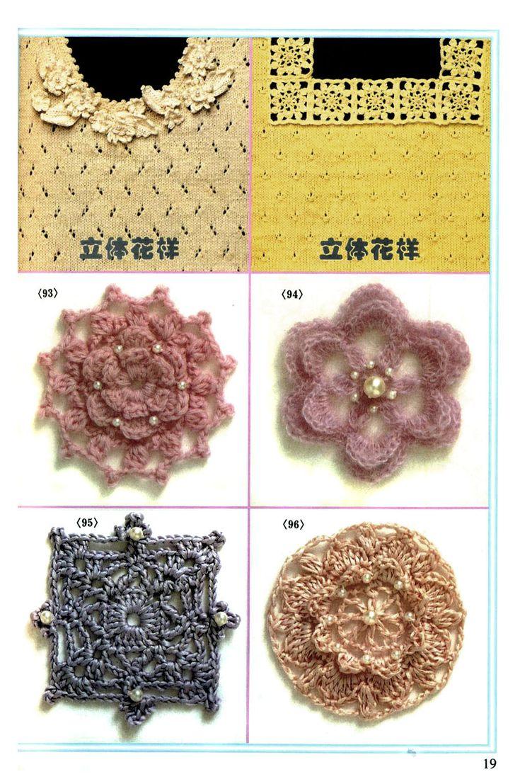 Free Patterns Crochet Motifs : Crochet motifs Free patterns