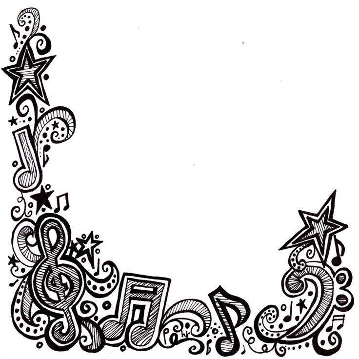 free music borders clip art grunge music frame by x nerd on rh pinterest com Hip Hop Dance Clip Art Dance Shoes Clip Art