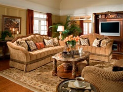 Max Furniture Marcus Aemilius Wood Trim Tufted Living Room Sofa  The Living Room Collection brings elements of style and sophistication to every room of your home. Traditional styling gives way to Old World elegance with its generous use of marble and eloquent carvings  http://www.maxfurniture.com