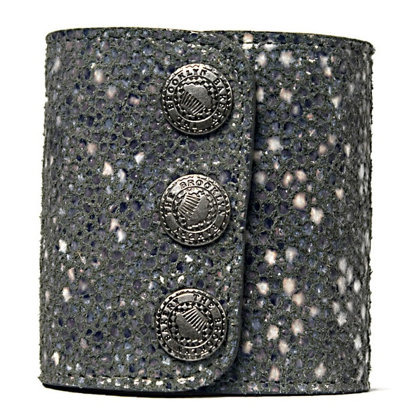 Gray Stingray Printed Cuff