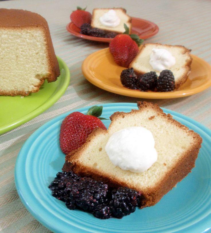 Buttermilk Pound Cake | Cakes/Pies/Cobblers | Pinterest