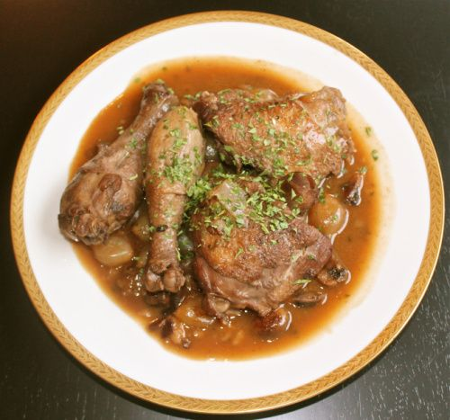 Coq Au Vin | Canapes and Chocolate | Pinterest