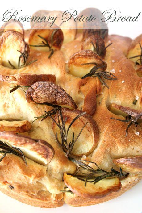 Rosemary Potato Bread * | Breadbasket Yumminess | Pinterest