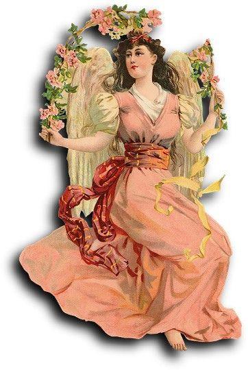 Victorian scrap: Angel