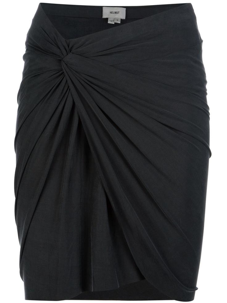 Helmut Twist Skirt