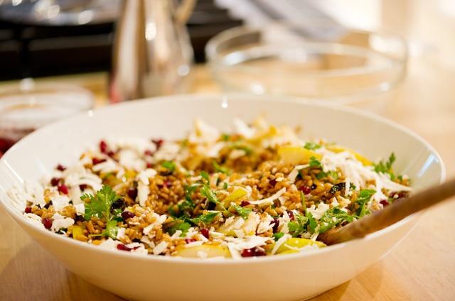 Farro Salad | Ladle | Pinterest