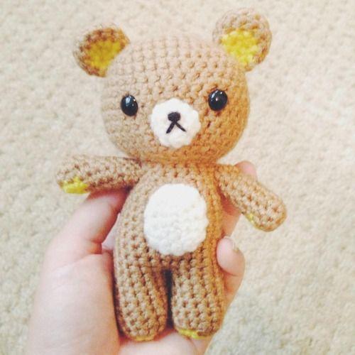 Amigurumi Rat : Rilakkuma kawaii amigurumi Crochet Pinterest