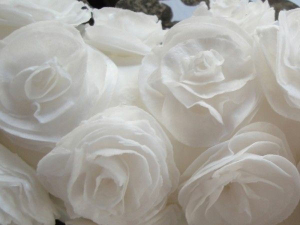 Wafer Paper Rose Tutorial