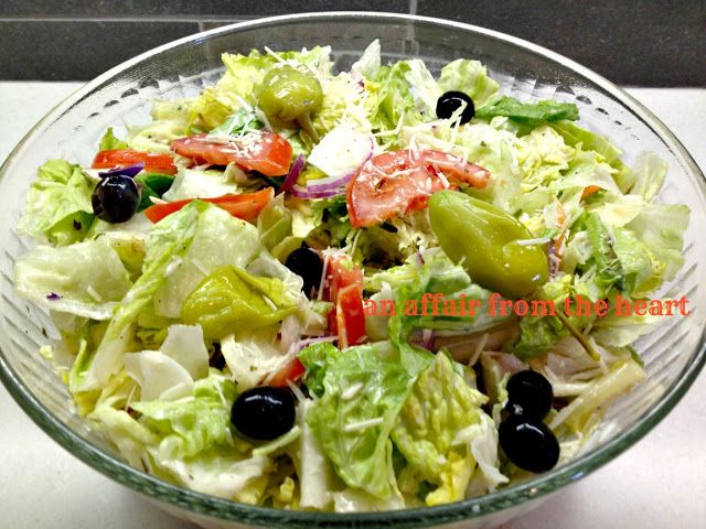 Olive Garden Salad And Dressing Recipes Salads Pinterest