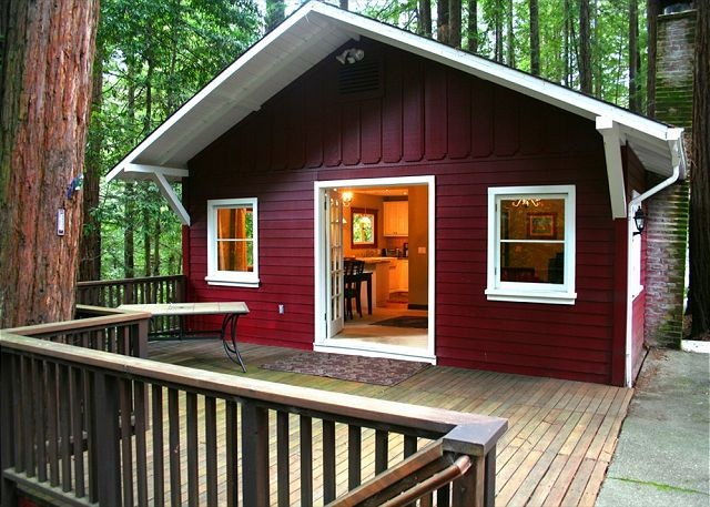 Pin by sarah bunney on lodging pinterest for Russian river cabins guerneville