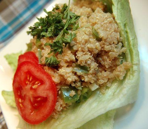 Simple Quinoa Salad   Food!   Pinterest