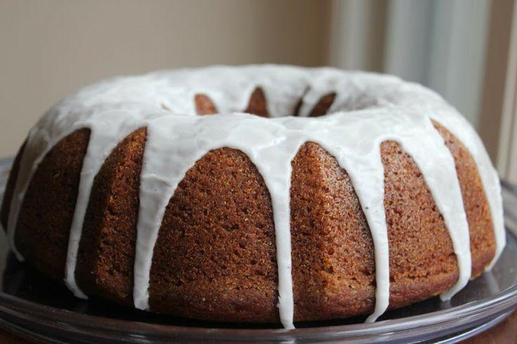 Blessed Femina: Pumpkin Spice Bundt Cake with Buttermilk Drizzle ...