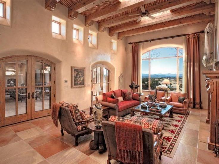 santa fe living room home decor pinterest