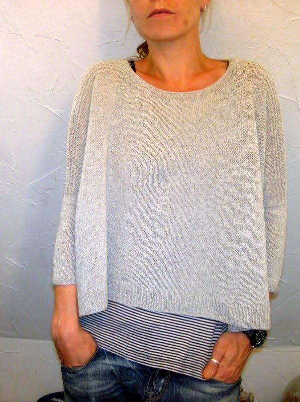 Boxy Knitting Pattern by Jo