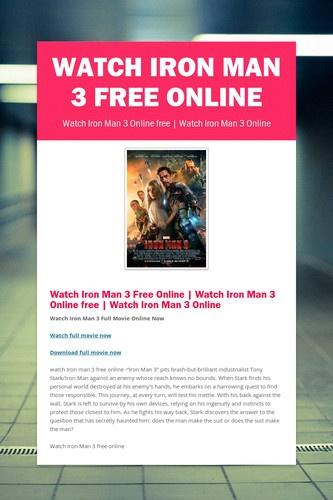 watch iron man 1 online free viooz