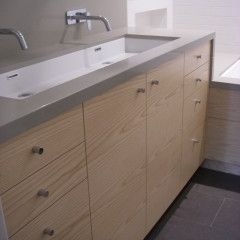 Long Sinks Bathrooms : Love this long double sink. Bathroom Pinterest