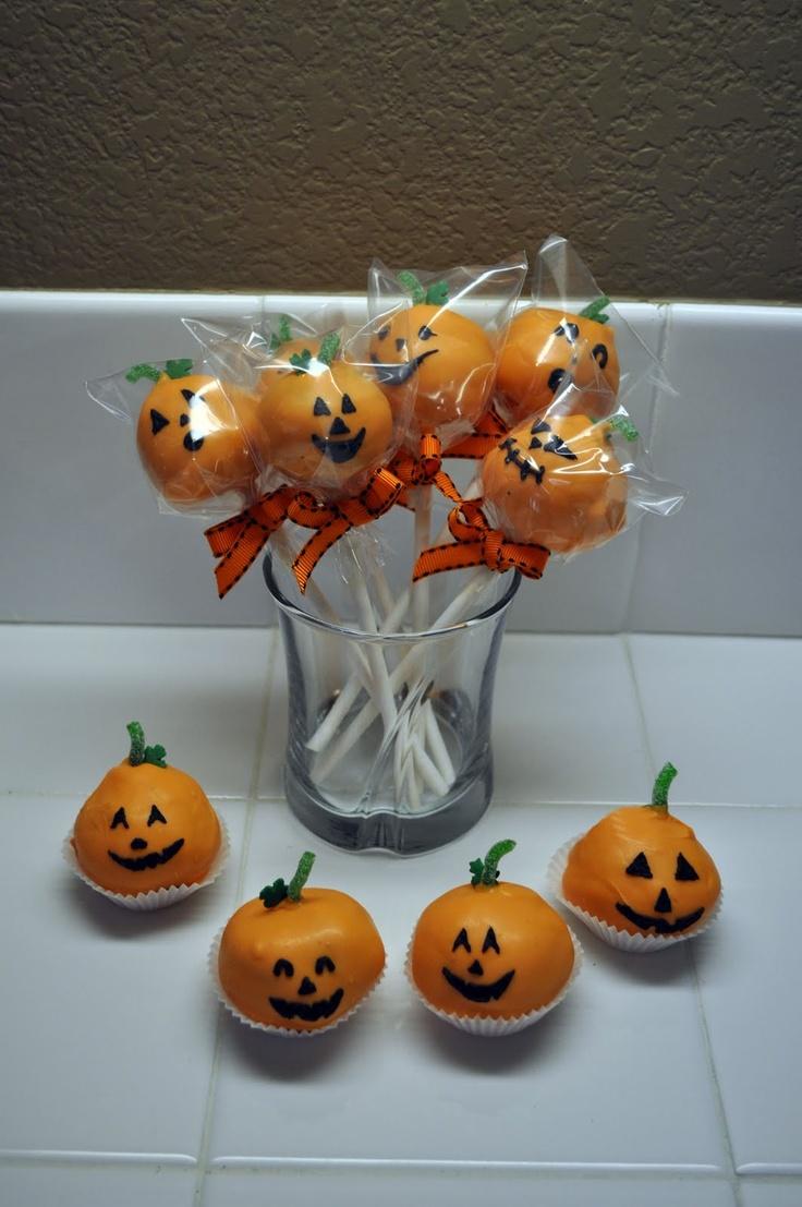 halloween treats cake pops | Halloween | Pinterest
