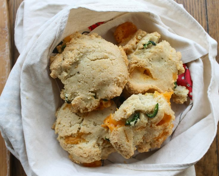 SCD Cheddar Jalapeno Biscuits   paleo/ grain free   Pinterest