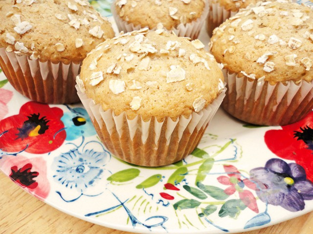 ... flour instead of white flour, and applesauce instead of sour cream