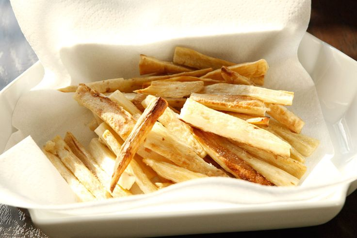 Yucca Fries - Whole30 forum says yucca is ok! I'm totally doing this ...