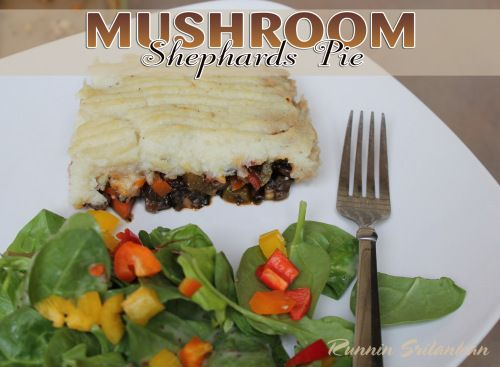 Mushroom Shepherd's Pie   Credits   Pinterest