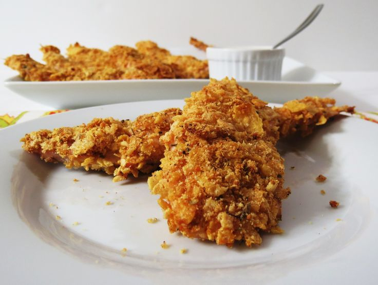 Chicken Fingers recipe - Foodista.com Going to try tonight. Fingers ...