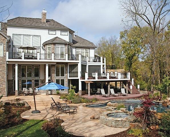 Multi Level Backyard Decks : multilevel deck  Backyard & Pool Ideas  Pinterest