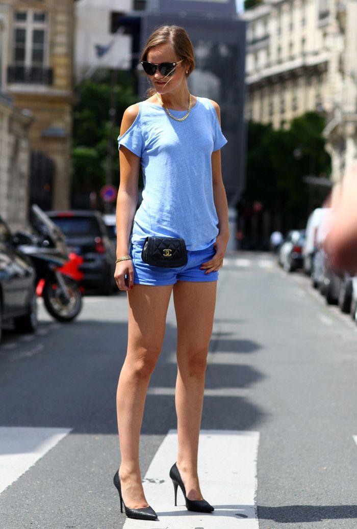 Clip-On Chanel Bag | Street Fashion | Street Peeper | Global Street Fashion and Street Style