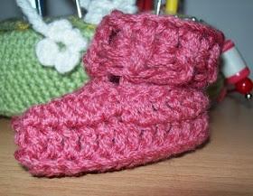 Beginner Crochet Baby Bootie Patterns