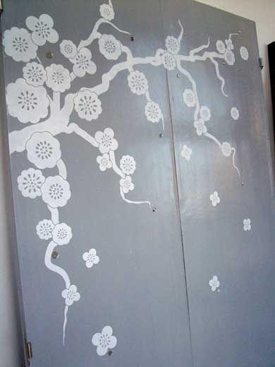 Decorar puertas armarios vinilo arquitectutra pinterest - Vinilos puertas armarios ...
