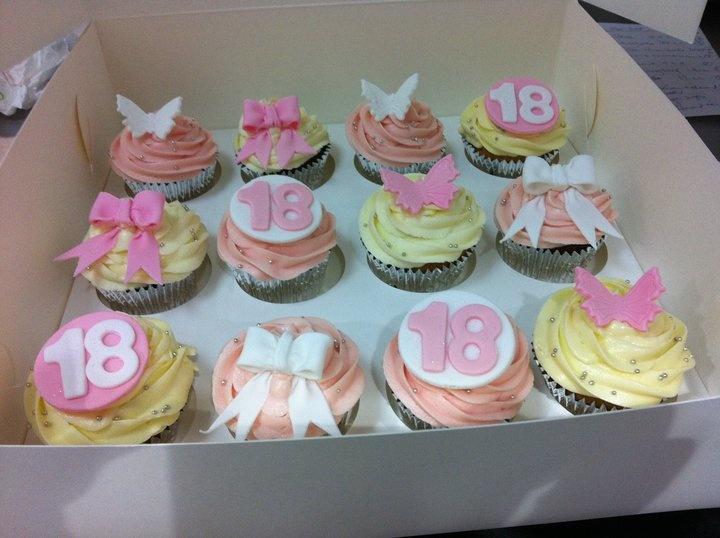 18th birthday cupcake recipes
