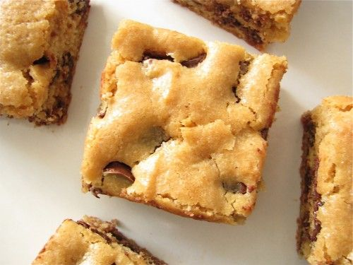 Peanut Butter Chocolate Chip Bars - would be even better with Peanut ...