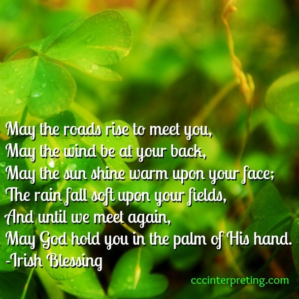 until me meet again may god hold you in the palm of his hand