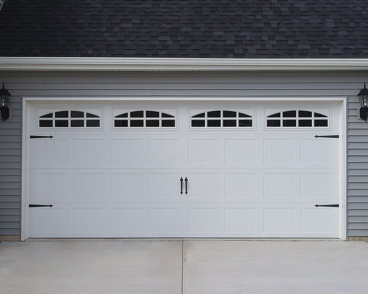 Garage Door Carriage Style For The Home Pinterest