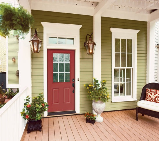 nice front door entrance pretty colors home decor ideas pintere