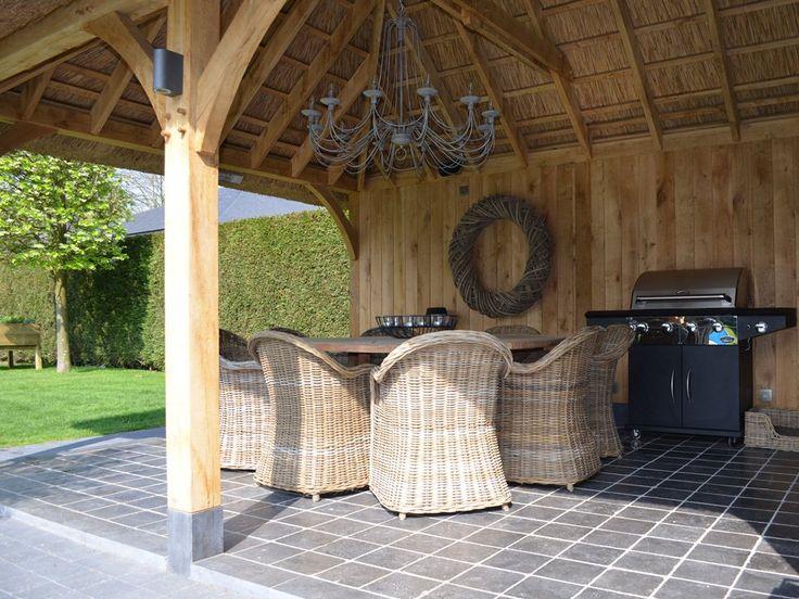 Ambo houtconstructies op maat ambo tuinhoutcontructies op maat homepage prieel in tuin - Prieel tuin ...