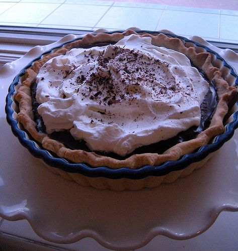 Chocolate Pudding Pie | the PIE hole | Pinterest