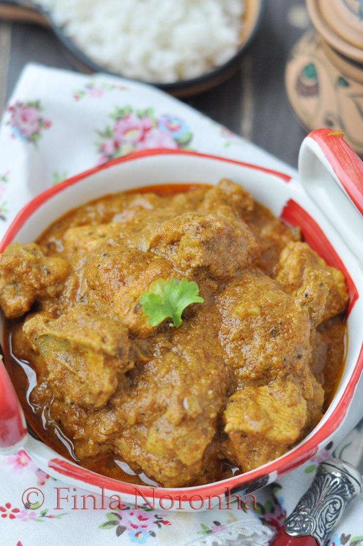 Chicken Vindaloo Spicy and Delicious http://www.mykitchentreasures.com ...