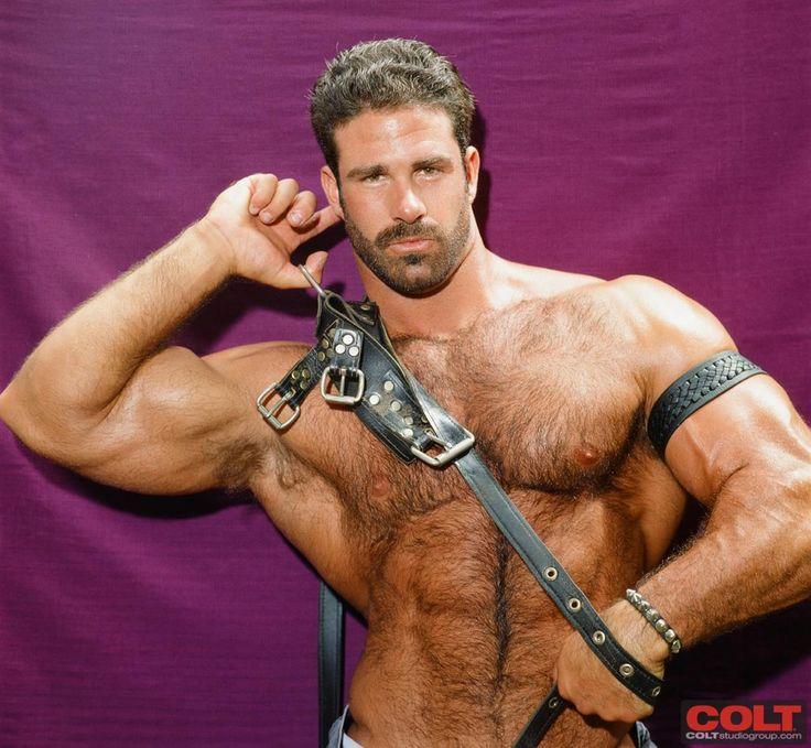 hairy muscle hunk colt icon pete kuzak