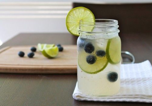 Sparkling Blueberry Limeade | Food...because it now deserves it's own ...