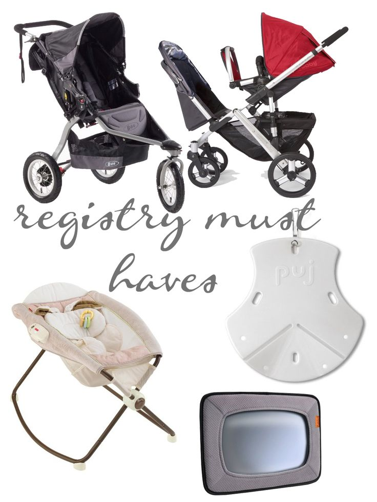 What are the must haves for nursery furniture : Baby registry must haves