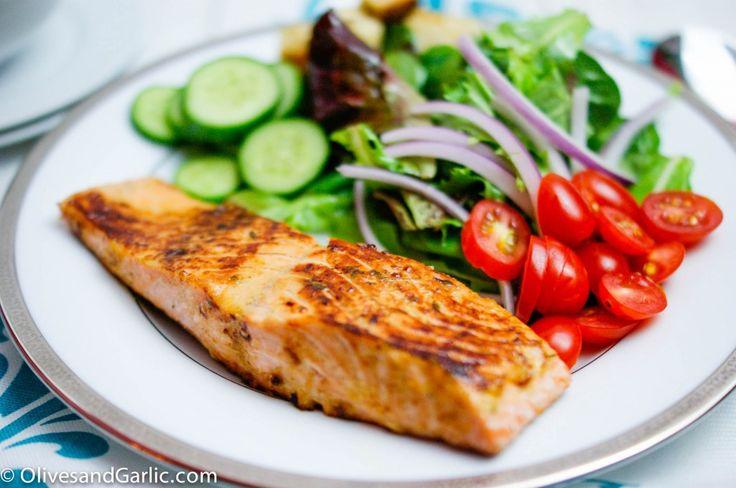 herb honey dijon salmon | FOOD! | Pinterest