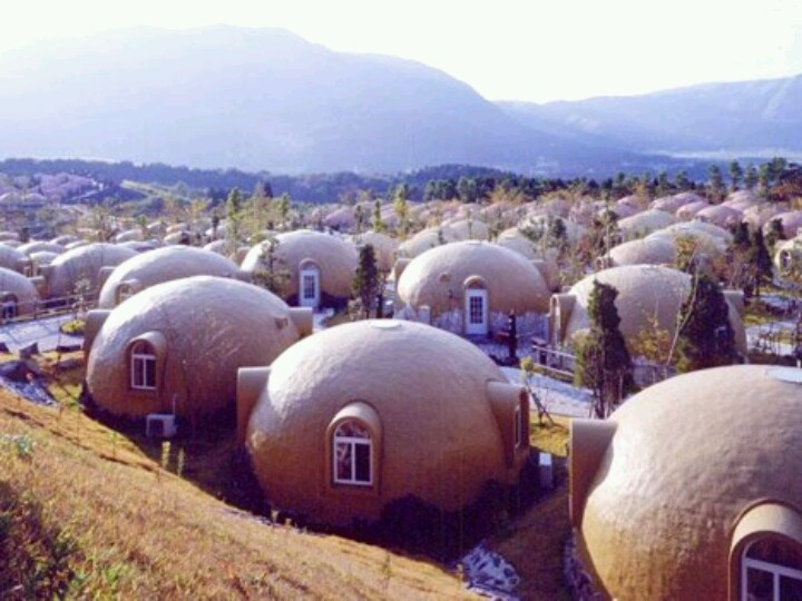 Dome House Futuristic Japan Geodesic Dome Homes