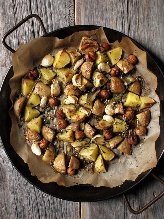 Rustic Herb Potatoes   TASTEFULLY SIMPLE   Pinterest