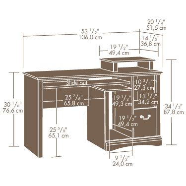 Computer Desk | Home_office | Pinterest